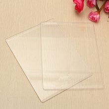 1Pcs 3mm Clear Acrylic Cutting Mat Plate For DIY Embossing Cutting Dies Platform Adapter Transparent Die Cutter Spacer New(China)