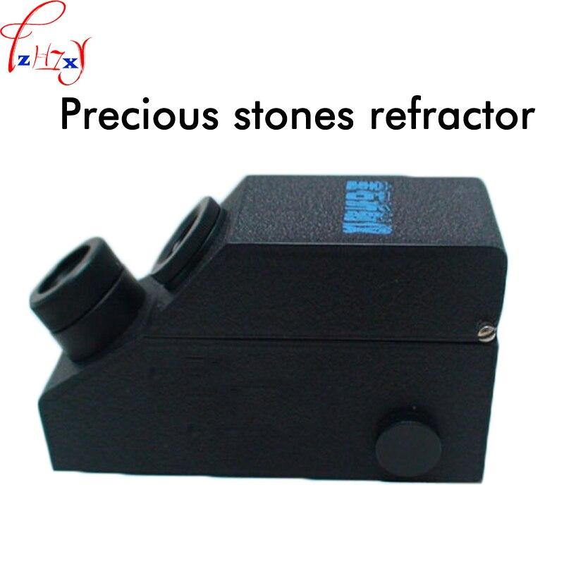 Professional gem jewelry refractometer RGM900 gem refractometer has a built-in light belt calibration wholesales buil in led light refractometer zgra 100atc