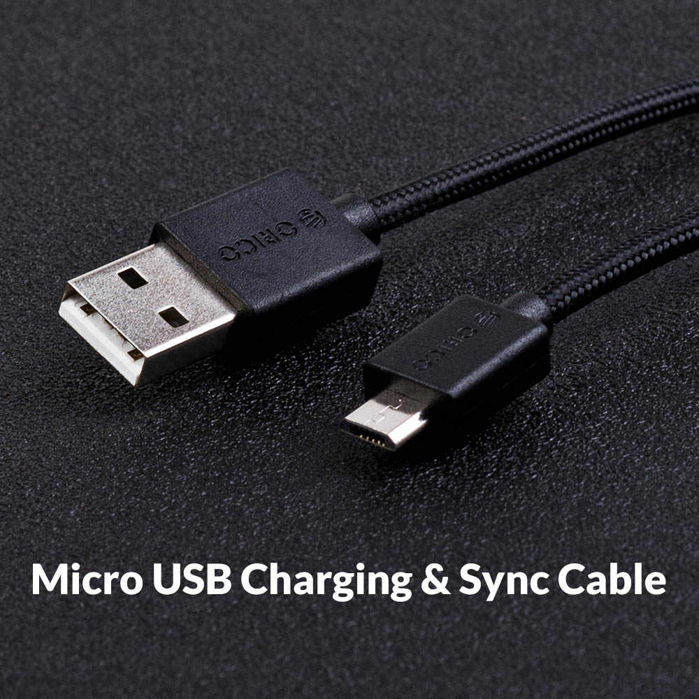 Orico Micro USB Snel Opladen Data Kabel Ondersteuning Max 2A voor Samsung Huawei Xiaomi LG Tablet Andriod Microusb Mobiele Telefoon kabels