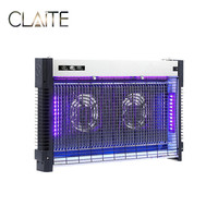 CLAITE 7W/10W Electric Mosquito Killer Lamp LED Bug Zapper Mute Safe Energy saving UV Light with Plug AC 220V
