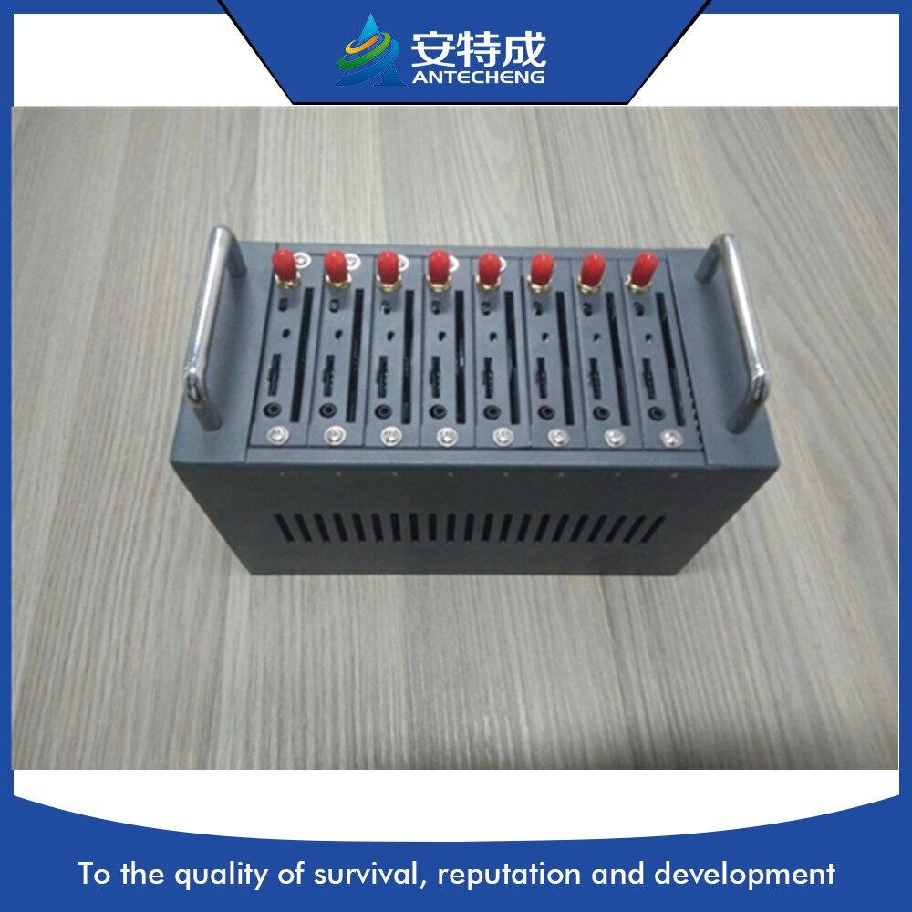 Antecheng multi sim card gsm modem 8 ports, 3g 8 port gsm modem pool sim5320, bulk sms device 3g modem