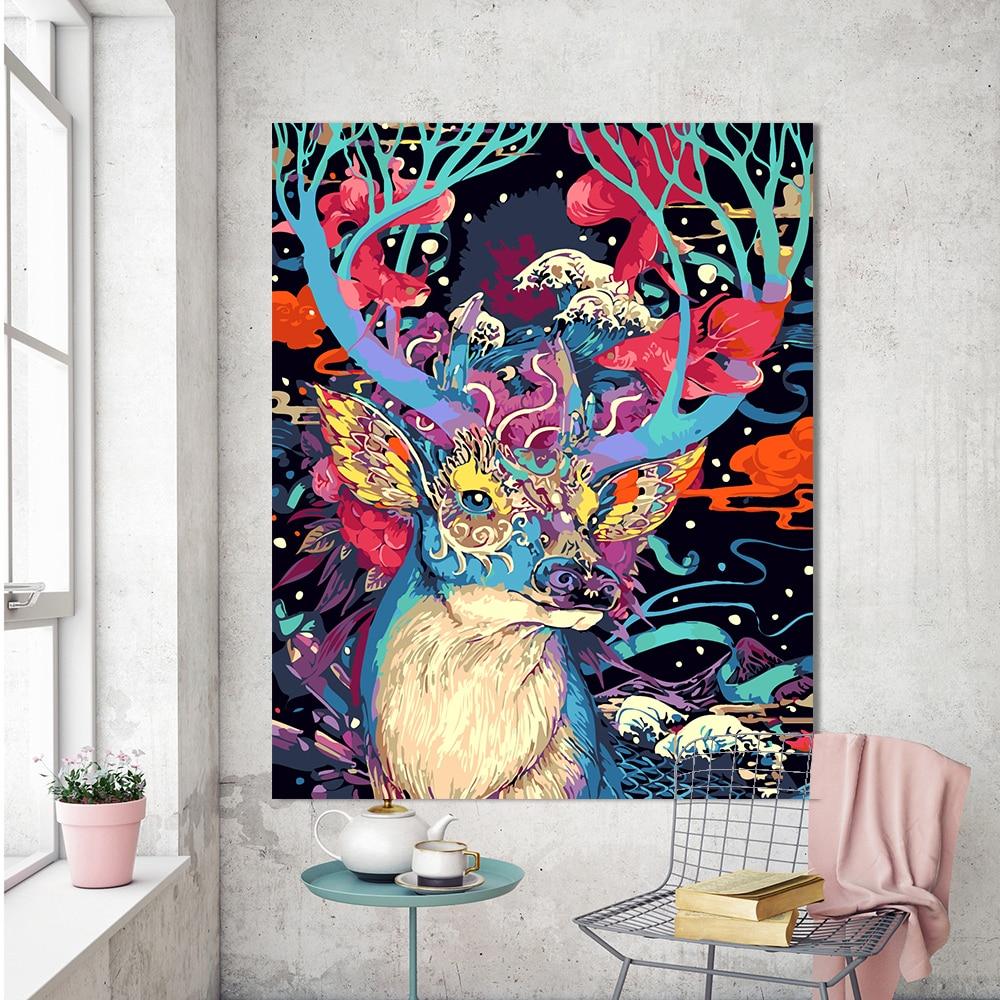 Spruce Home Decor Gift Store: Aliexpress.com : Buy HDARTISAN Frameless Christmas Deer
