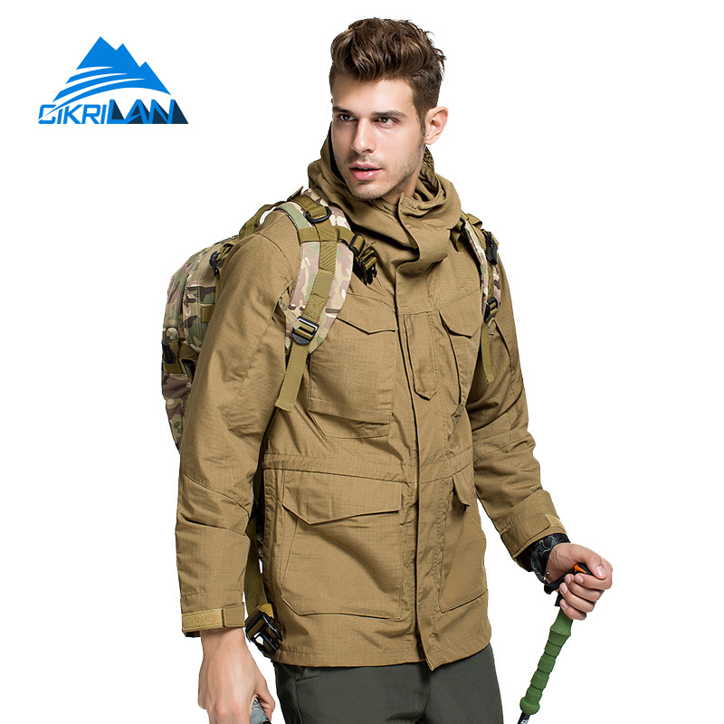 Hot Sale Fishing Camping Outdoor Sport Coat Windstopper Water Resistant Jacket Men Hiking Veste Homme Anti-wear Chaqueta Hombre hot sale windstopper water resistant coat 2in1 hiking winter jacket women outdoor veste breathable camping chaquetas mujer
