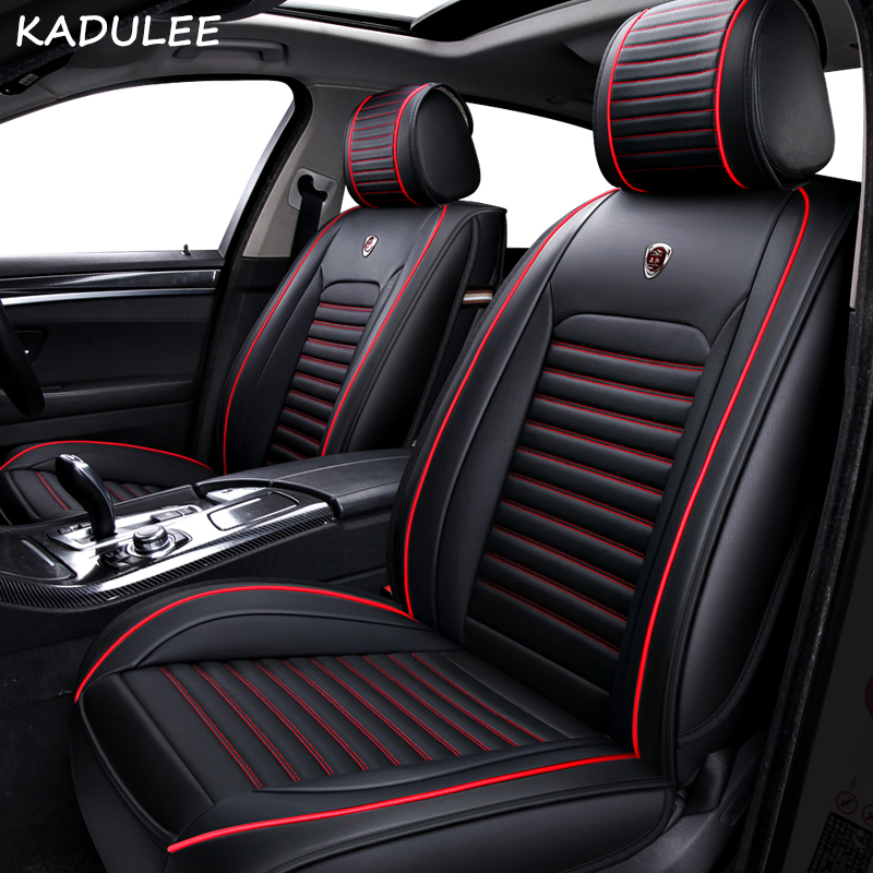 KADULEE PU Leather car seat cover For MINI Cooper R50 R52 R53 R56 R57 R58 F55 F56 F57 Countryman R60 F60 car accessories stylingKADULEE PU Leather car seat cover For MINI Cooper R50 R52 R53 R56 R57 R58 F55 F56 F57 Countryman R60 F60 car accessories styling