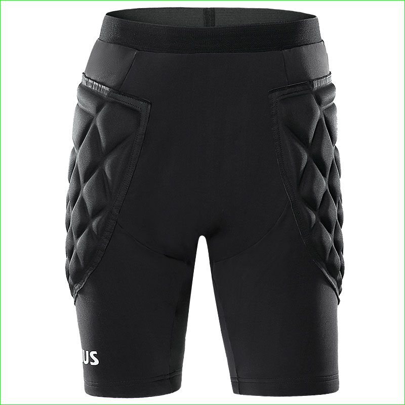 Prix pour 2016 Nouveau Hommes Football Gardiens De But Leggings Football Rouleau De Patinage Protection Éponge Shorts