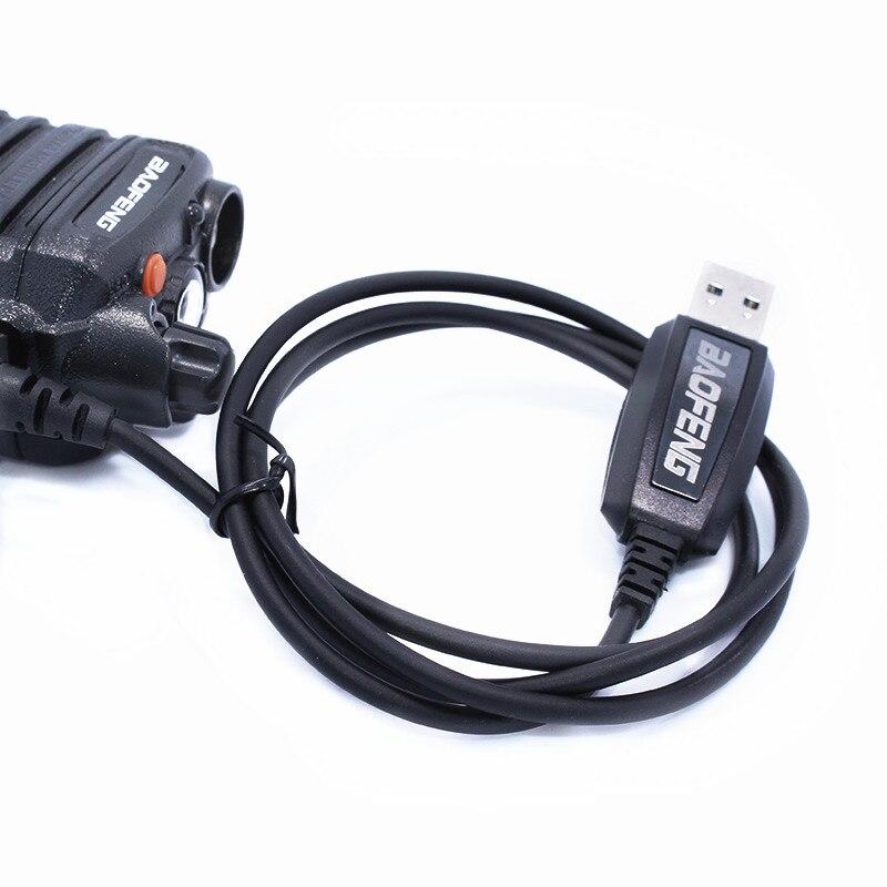 Oringinal Câble de Programmation USB pour Baofeng Étanche talkie walkie câble + CD logiciel pour UV-XR UVXR