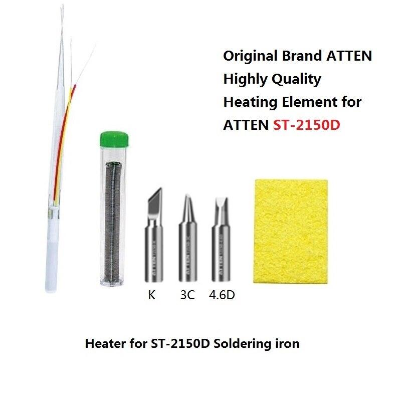 Original ATTEN ST-2080D ST-2150D 80W/150W Soldering Iron Heating Element Heater Soldering Iron Tips Free Shipping Drop Shipping
