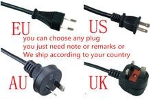 2018 волос Разделение Триммер Профессиональный волос стеклоочистители машинка для стрижки волос с черный, красный Цвет ЕС AU США Великобритания Plug Триммеры