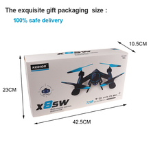 KEDIOR X8SW Quadrocopter Wifi Fpv Drone with Camera HD Rc Helicopter Quadcopter 2.4G Professional 720P Camera Helicopter