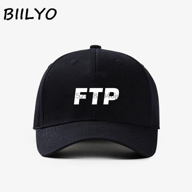 FTP Custom Logo Baseball Caps Hats Snapback Adjustable-in Baseball ... 14fe926a075e