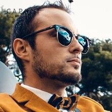 Caponi Polarized cat eye sunglasses women men Brand Designer Plastic titanium High Quality Shades for Male Fashion Classic 3101