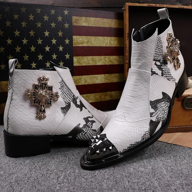 Popular Mens White Cowboy Boots-Buy Cheap Mens White Cowboy Boots ...