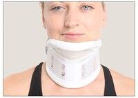 Colar Cervical de Plástico rígido com Apoio do Queixo Para Problemas No Pescoço Lesões No Pescoço & Pain & Rigidez & Cirurgia Cervical Tração dispositivo