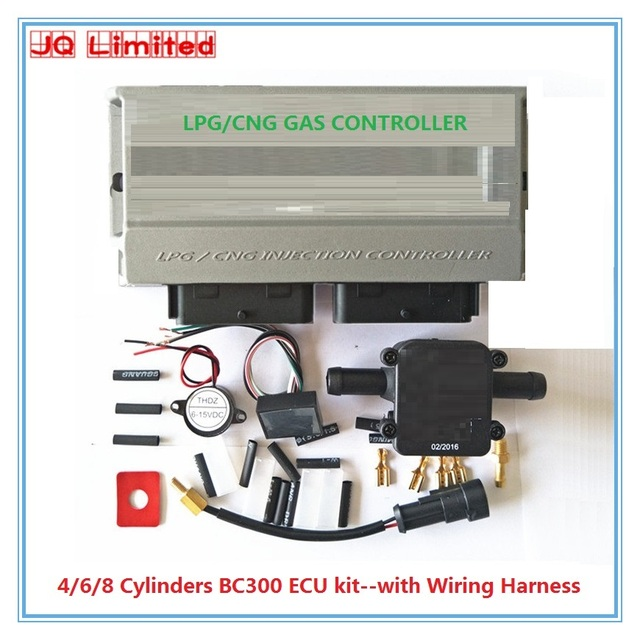Cylinder Bc300 Ecu Kits For Lpg Cng Conversion Kit For Car Latest Version 11 3 Stable And Durable Gpl Gnc Kits With Wire