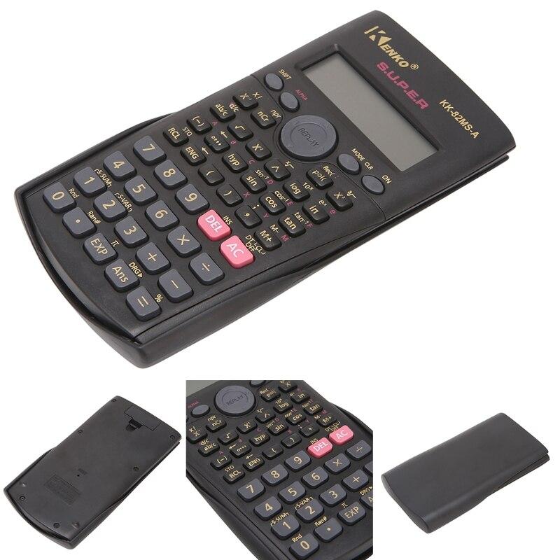 12 разрядный электронный научный калькулятор Multi-Функция 2-линии Дисплей редактор данных stat для школы, университет и Бизнес