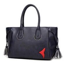 Frauen Handtasche Casual Umhängetasche Umhängetasche Quaste frauen Handtasche Einkaufstasche Langlebig