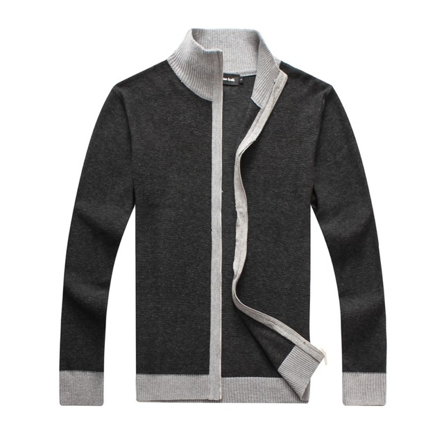 2016 MEN'SWEATERS CARDIGAN FOR SPRING WINTER COLLECTION HIGH QUALITY BRAND CLOTHING  WITH LEISURE ENGLAND STYLE COTTON FABRIC