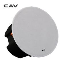 CAV HT-80 인 천정 스피커 20W-100W 8 인치 홈 시어터 시스템 스테레오 스피커 음악 센터 벽 내장형 무선 스피커