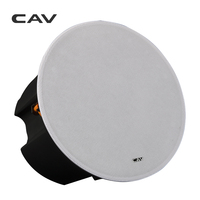 CAV HT 80 In Ceiling Speaker 20W 100W 8 Inch Home Theater System Stereo Speakers Music