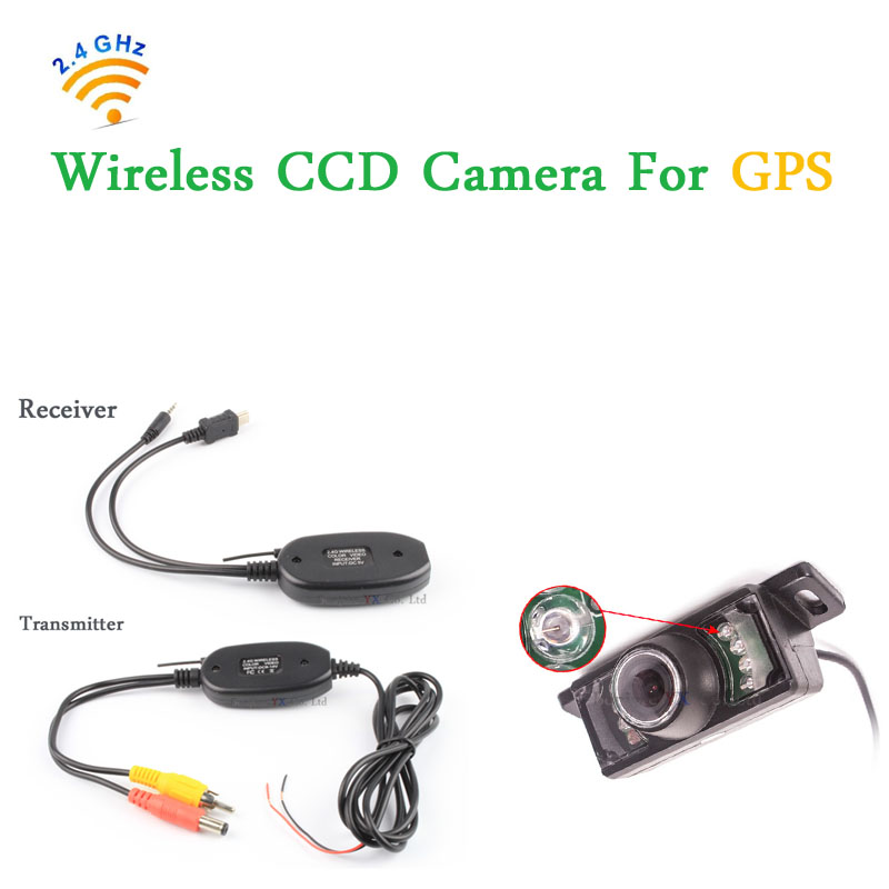 2017 Hot Selling Wireless for Car GPS With 7 LEDs IR Car Rear View Camera Waterproof Reversing Camera Parking Sensor,freeship