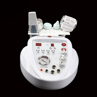 free shipping 6 in 1 Microdermabrasion Machine with Skin Scrubber/Dermabrasion Hot and Cold Treatment ultrasonic beauty AM 905