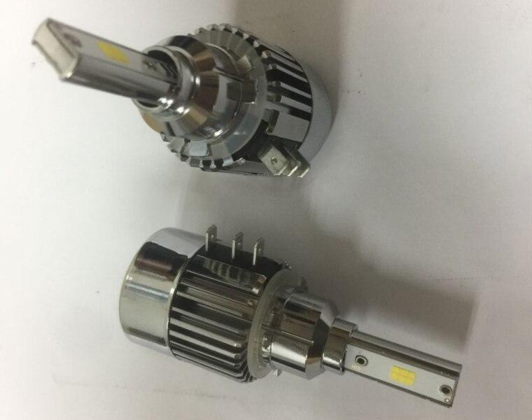 H15 LED Headlight Canbus No Error Free High Beam Daytime Running Light DRL Head Lamp LED Decoder for Audi Mercedes VW Golf Ford
