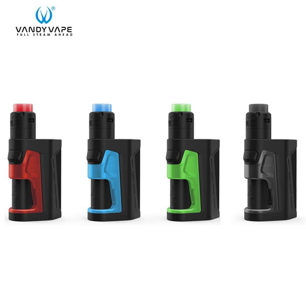 D'origine Vandyvape Pulse Double 220 W Avec Pulse Double Mod Pulse V2 RDA Réservoir sans 18650 Batterie Électronique Cigarette Vaporisateur