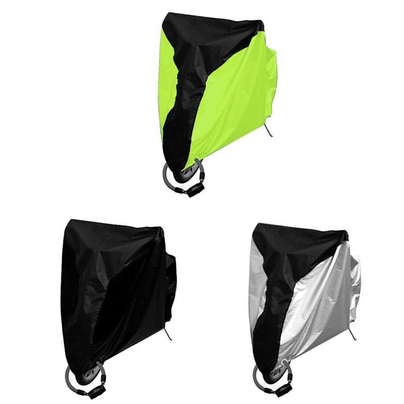 Bike Cover Outdoor Waterproof Bicycle Cover Mountain Bike Road Bike Bicycle Anti-UV Car Cover Protection mountain bike four perlin disc hubs 32 holes high quality lightweight flexible rotation bicycle hubs bzh002