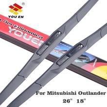 YOUEN Wiper Blades For Mitsubishi Outlander(2012-2014), 18