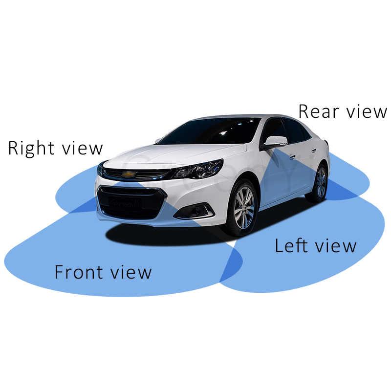 Все системы круглого обзора вокруг парковки 360 вид автомобиля камера управления коробка 4 способ включатель камеры система задний левый и правый фронтальная камера