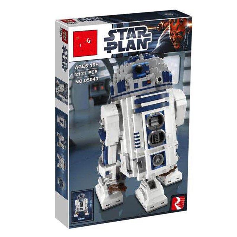 DHL 05043 2127 pcs Echt Star wars De R2 D2 Robot Set uitverkocht Bouwstenen Bricks Speelgoed 10225 wars-in Blokken van Speelgoed & Hobbies op  Groep 1