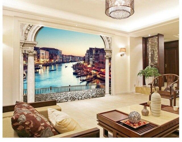 Badkamer Romeinse Stijl : Behang badkamer woondecoratie behang muurschilderingen 3d europese