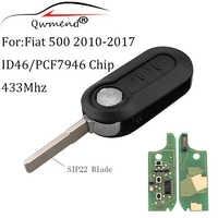 3 Bottoni Transponder Chip ID46/PCF7946 chiave A Distanza Per FIAT 500 Doblo Fiorino Grande Punto Evo Qubo 433Mhz chiave originale