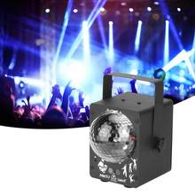 Control remoto Disco LED Luz de escenario RGB proyector luces para LED escenario Ligh fiesta Bar decoración US Plug 100- 240V(China)
