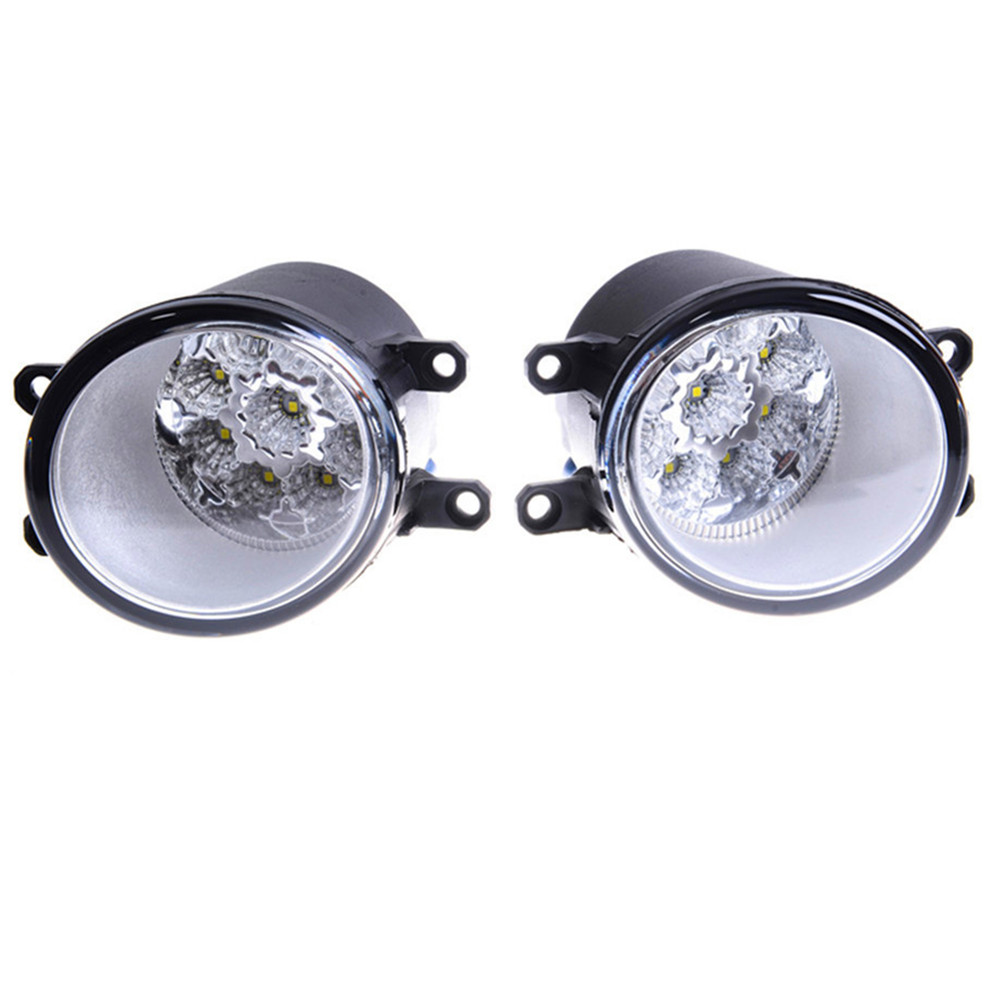 For LEXUS RX GYL1 GGL15 AGL10 450h AWD 350 AWD 2008 - 2013  Car styling LED fog Lights high brightness fog lamps 1set for lexus rx gyl1 ggl15 agl10 450h awd 350 awd 2008 2013 car styling led fog lights high brightness fog lamps 1set