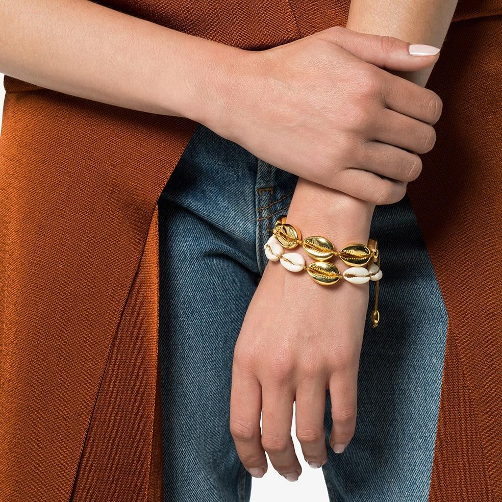 large puka shell bracelet (2)