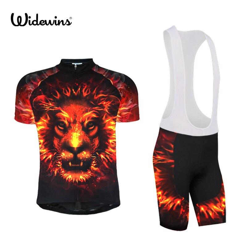 widewins Mens Cycling Jersey Ropa Ciclismo Bike Bicycle Sports wear Cycling Bike Clothing Bike Jersey Raging