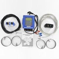 TUF 2000B настенный ультразвуковой измеритель температуры жидкость для расходомера расходомер RS485 Modbus для промышленного контроля