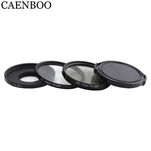Image 5 - CAENBOO Lens Filters For XiaoMi Yi 4K+Plus Circular CPL UV C PL Sport Action Camera Protector For Xiaomi Yi 4K Lite Accessories