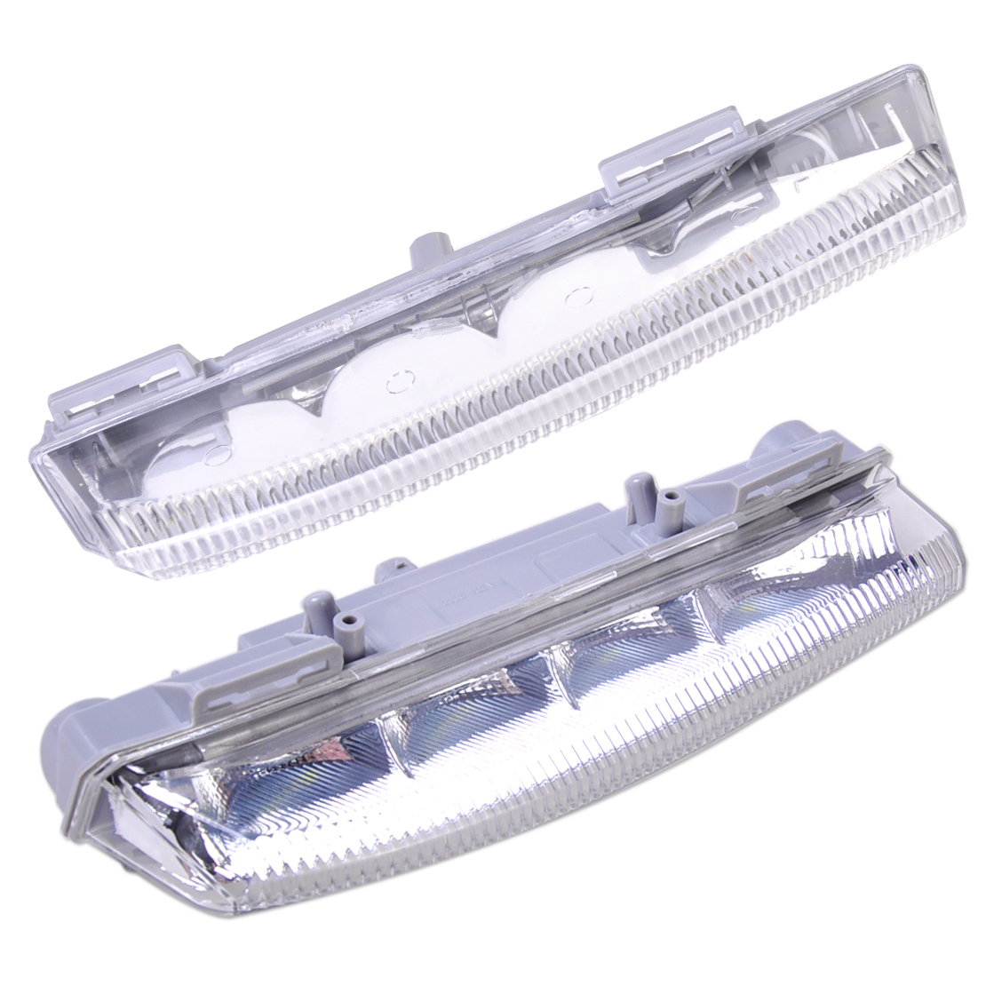 DWCX 2x Car Daytime Running Lamp Fog Light 2049068900 2049069000 for Mercedes Benz W204 2011 - 2014 W212 2013 R172 2012 - 2013 2pcs led fog lamp for benz w204 c class 11 13 car lights auto replacement daytime running lights fog lamp for mercedes for benz