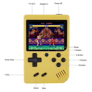 Image 3 - Portable Children Retro Mini Handheld Game Players Built in 168 Games 3.0 Inch 8 Bit Classic Video Handheld Game Console