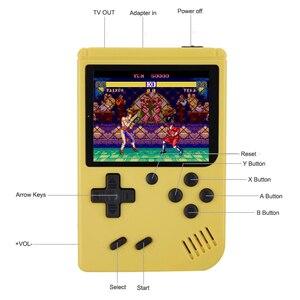 Image 3 - Tragbare Kinder Retro Mini Handheld Spiel Spieler Gebaut in 168 Spiele 3,0 Zoll 8 Bit Klassische Video Handheld Spiel konsole
