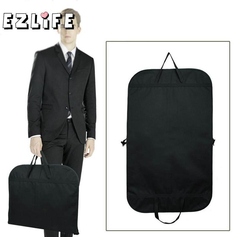 2 Colors Men Dustproof Hanger Coat Clothes Garment Suit Cover Storage Bags Clothes Storage Case Clothing Covers 60x100/60x120cm