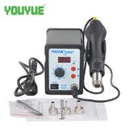 UYUE 110V 220V 700W Soldering Station LED Digital Solder Iron Desoldering Station BGA Rework Solder Station