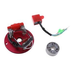 Image 3 - Kit de Rotor interno de rendimiento Magneto, estátor CDI para 110 125 140cc Lifan YX, accesorios de Encendido para motocicleta, inflamación