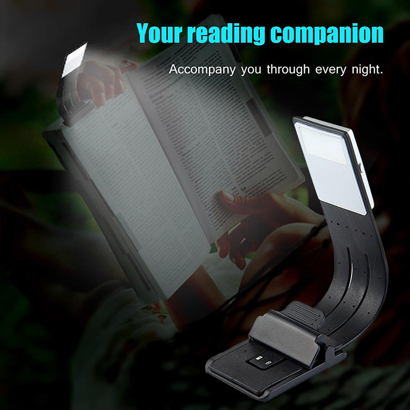 Piano Book Lamp LED Clip Booklight USB Rechargeable 4Modes Home Decor Torch Music Stand Flexible Study Flashlight Reading Light