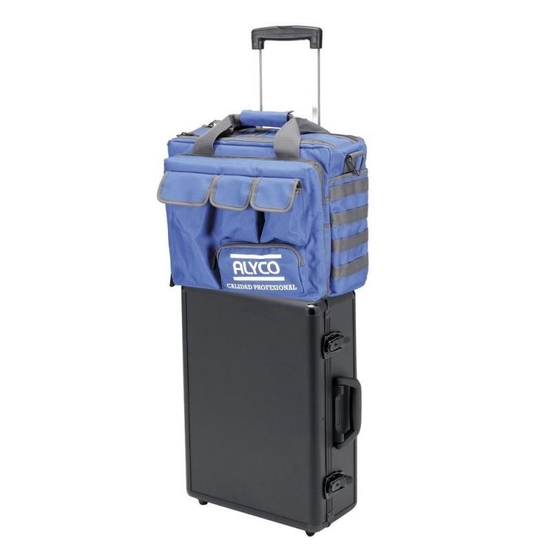 ALYCO 198115-Suitcase Aluminum 1 Tray And Bag 770x330x152