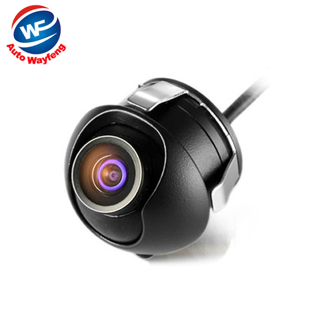 HD CCD  night vision car rear view camera front view side view Camera rear monitor for 360 degree Rotation Universal camera WF