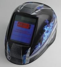 Авто затемнение сварочный шлем/Сварочная маска (Grand-918I пламя)/MIG MAG TIG/4 дуговой датчик/солнечные батареи и сменные Li-batteries