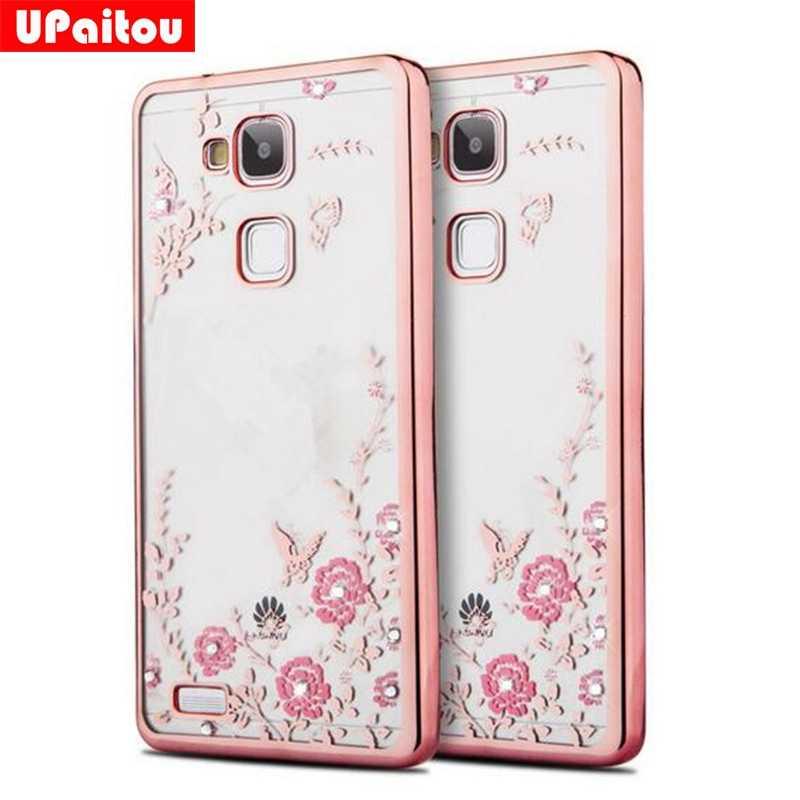 Upaitou Роскошные Алмаз мягкий чехол TPU для Huawei Коврики 10 Pro Lite 9 8 7 задняя крышка Honor вид 10 v10 9i/Нова 2i 2 S силиконовый чехол